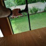 ninja lehúzó ablakpucolás közben